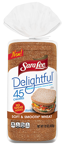 Delightful® Soft & Smooth® Wheat Bread Render