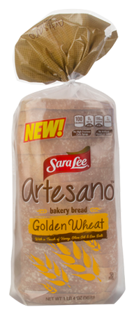 Artesano Golden Wheat Bread