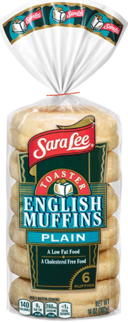Toaster Plain English Muffins