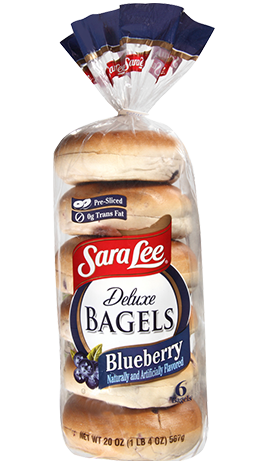 Blueberry Bagels | Sara Lee