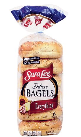 Sara Lee Everything Bagels
