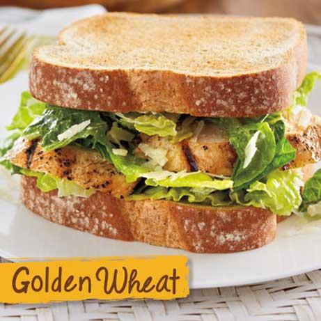 Caesar Salad Sandwich made with Golden Wheat Bread