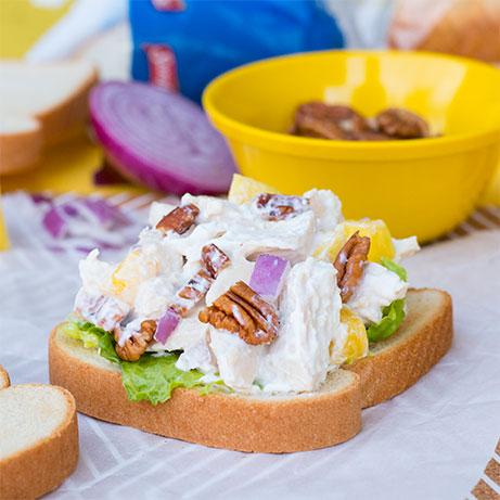 Chicken Salad with Pecan and Pineapple Recipe