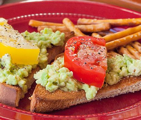 Avocado & Tomato Toast