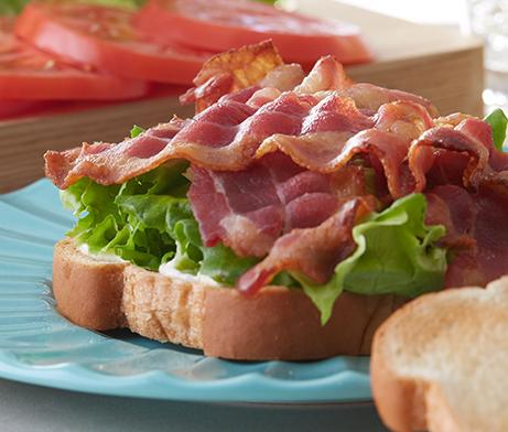 Open-Faced BLT