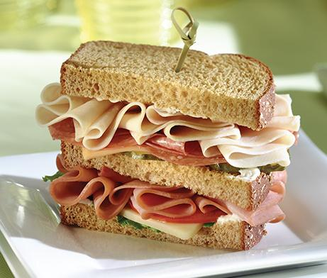 Cold Cut Dagwood Sandwich