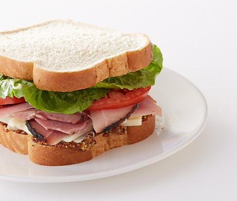 The Classic Ham Sandwich