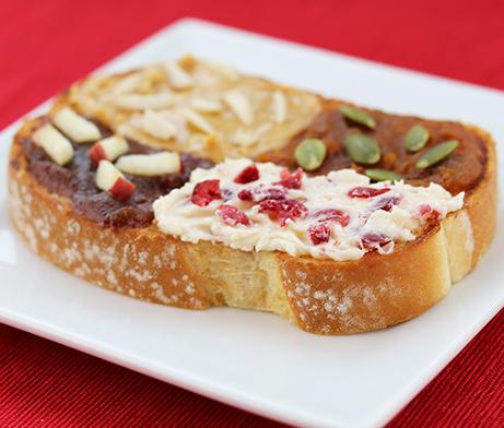 Fall Toast Toppings