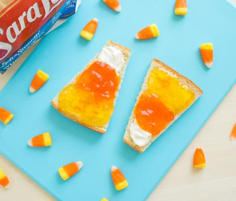 Candy Corn Toast