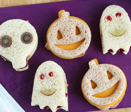 Spooktacular Sandwiches