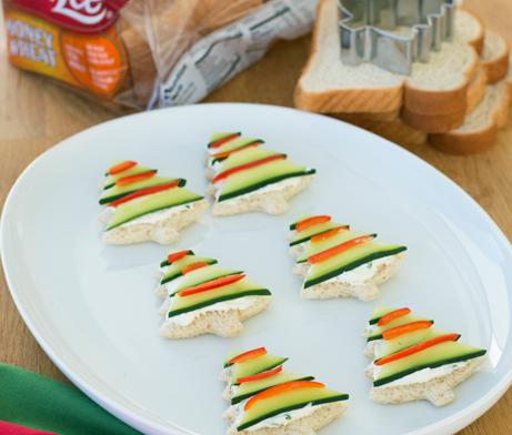 Cucumber Tree Tea Sandwiches