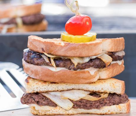 Grilled Patty Melt