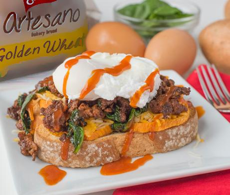 Artesano Golden Breakfast Sandwich
