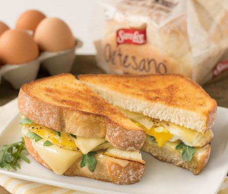 Grilled Egg Cheese Sandwich