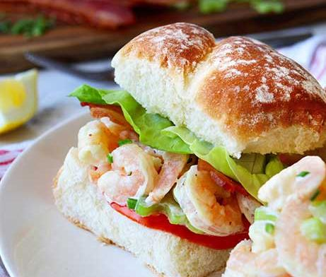 BLT Shrimp Roll by Katie Lee