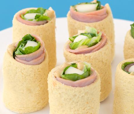 Ham & String Cheese Rollups