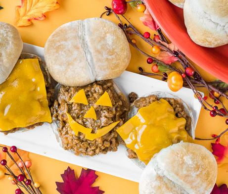 Pumpkin Sloppy Joe