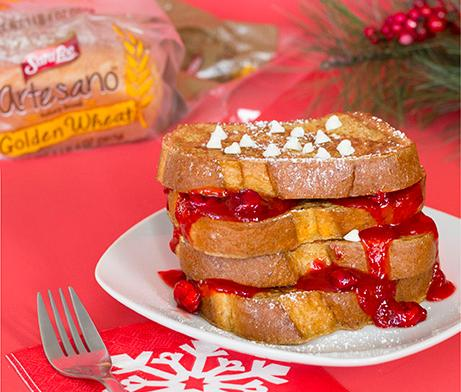 Cranberry White Chocolate Chip French Toast