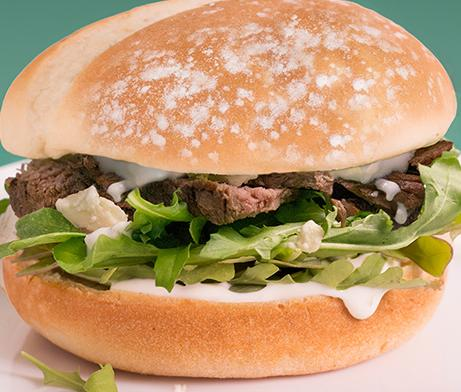 Black & Blue Steak Sandwich