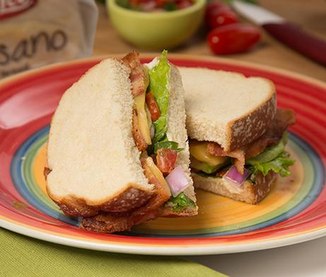 Mexican-Style BLT Sandwich
