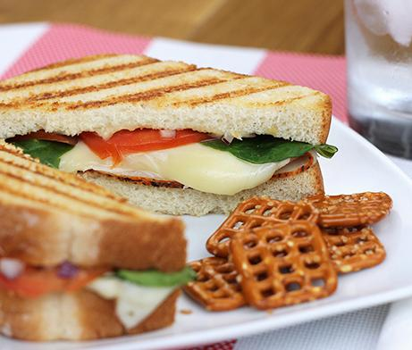 Turkey, Tomato & Muenster Panini